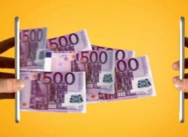 Geld ontvangen